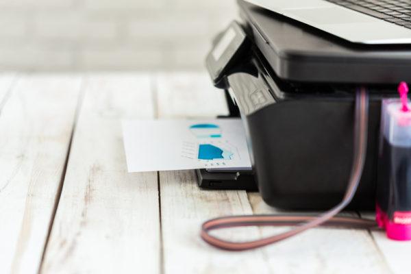 Puissance d'une imprimante laser de bureau